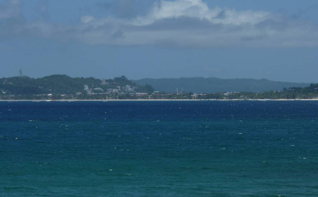 looking at boracay during the pandemic