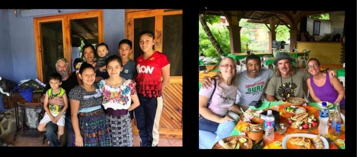 Airbnb hosts share pandemic news: Atitlan family left, Zihua hosts right