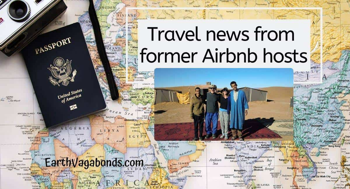 Airbnb hosts share news from around the world