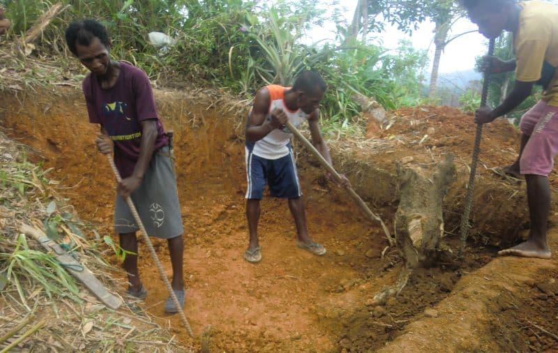 Thank you for the Ati donations! They will be used on a few projects - like this one - rebuilding a hen house.