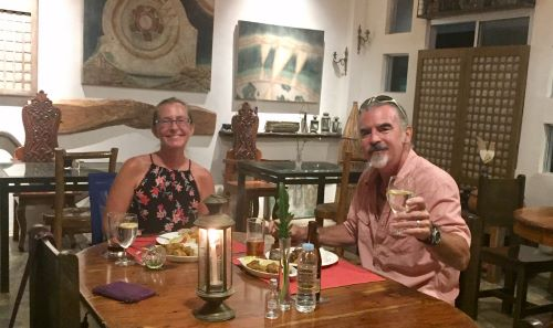 ellen and tedly look happy at dinner at balay tadyaw, out and about in the new normal