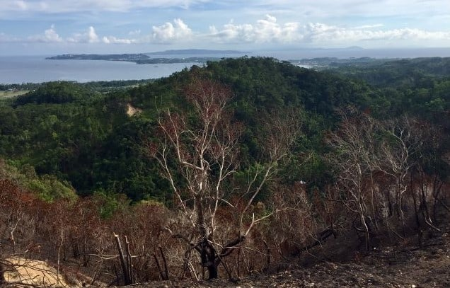 indigenous ati people of malay have this amazing view of boracay island on their land