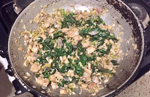 Quarantine changes, visa issues, cooking success -- pan of jackfruit stir fry