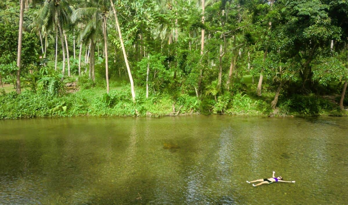 Nabaoy River outing in peaceful jungle