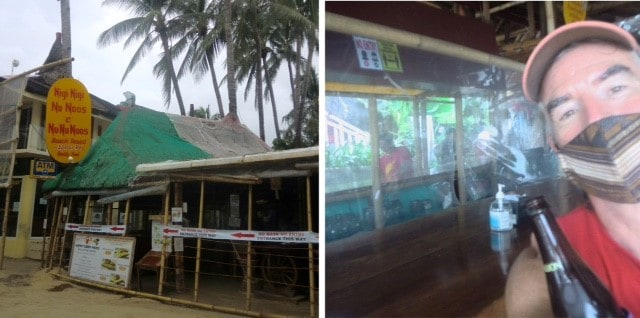 The popular bar Nigi Nigi has taken many steps for customer safety, including social distancing, plastic sheeting, hand sanitizers, contact tracing, temperature taking, and more.