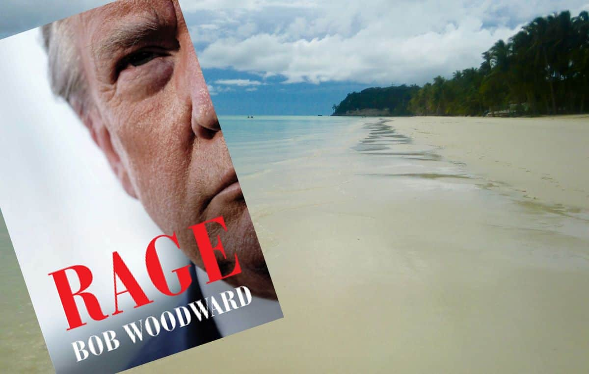 the new book cover for 'rage' is depressing news from the homeland