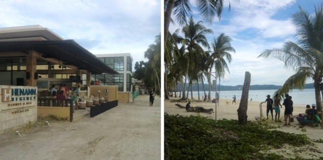 weekend update from paradise -- there are more tourists from Panay island on boracay island.