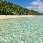 tropical paradise boracay and the island's white beach