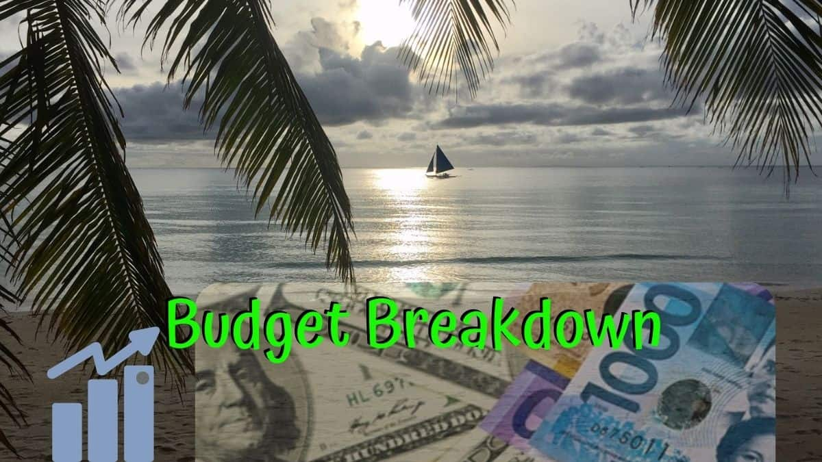 Budget breakdown: October 2020 in the Philippines