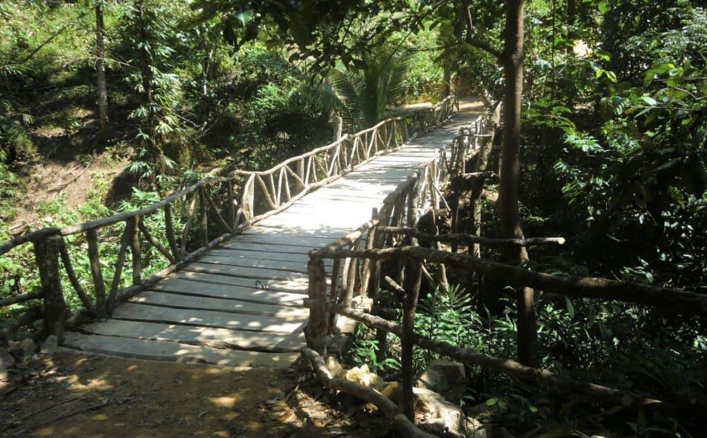 Ati bridge made by hand