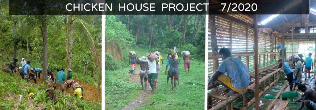 Ati henhouse work in 2020.